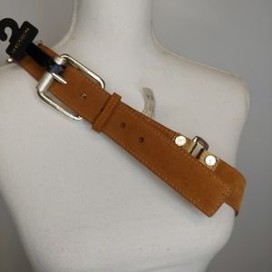 Michael Kors Leather Belt NWT XL Studded